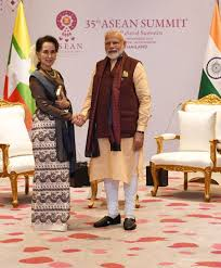Prime Minister meeting with State Counsellor of Myanmar