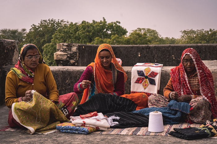 Fabriclore Collaborates With Hatheli Sansthan – Empowering More Than 350 Women Artisans in Rajasthan
