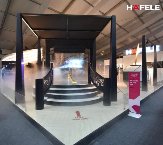 Hafele Designed the Fairytale Land – A Modern Day Rendition at ID Exhibition