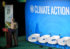 PM's remarks at Climate Action Summit 2019 during 74th session of UNGA