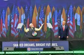 PM addresses the Indian community event ' Howdy Modi' at Houston