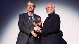 PM receives 'Global Goal Keeper Award' for Swachh Bharat Abhiyan