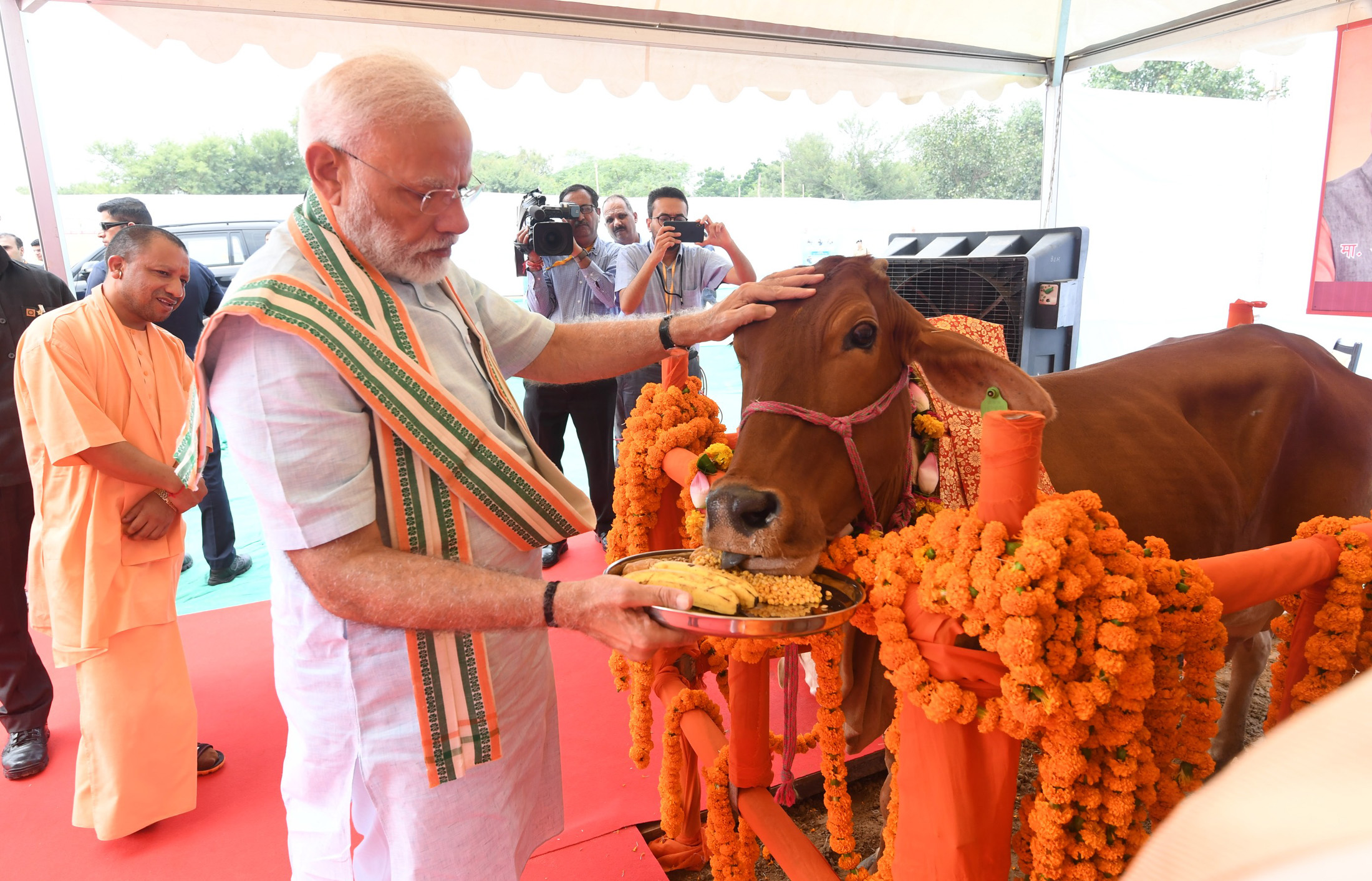 Prime Minister Launches National Animal Disease Control Programme and National Artificial Insemination Programme