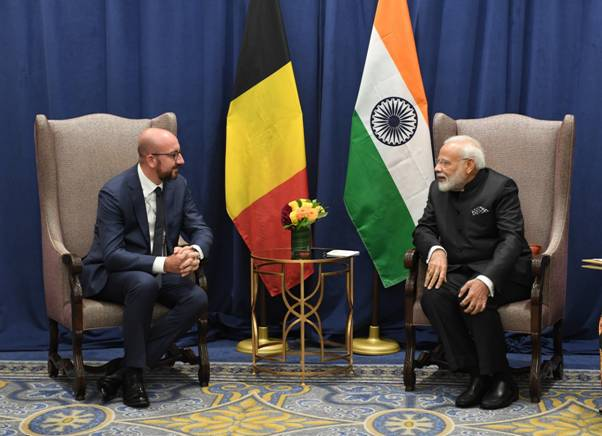 Press release on Prime Minister's Meeting with Belgian Prime Minister on the margins of 74th Session of UNGA