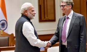 Prime Minister Thanks Bill and Melinda Gates Foundation for conferring Global Goalkeepers Goals Award 2019