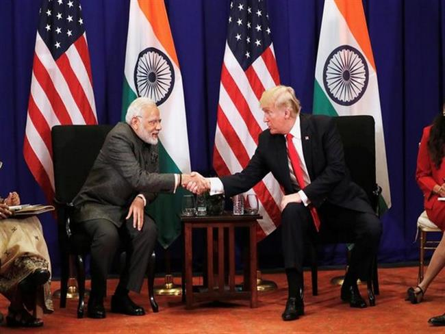 Prime Minister welcomes President Donald. J.Trump's participation in the Indian Community Program in Houston on September 22