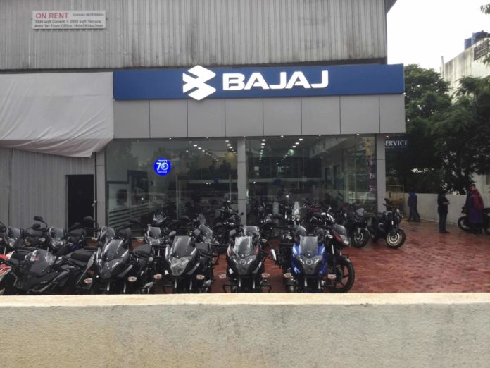 Bajaj Auto reports 22 pc increase in Q2 net profit at Rs 1,402 crore