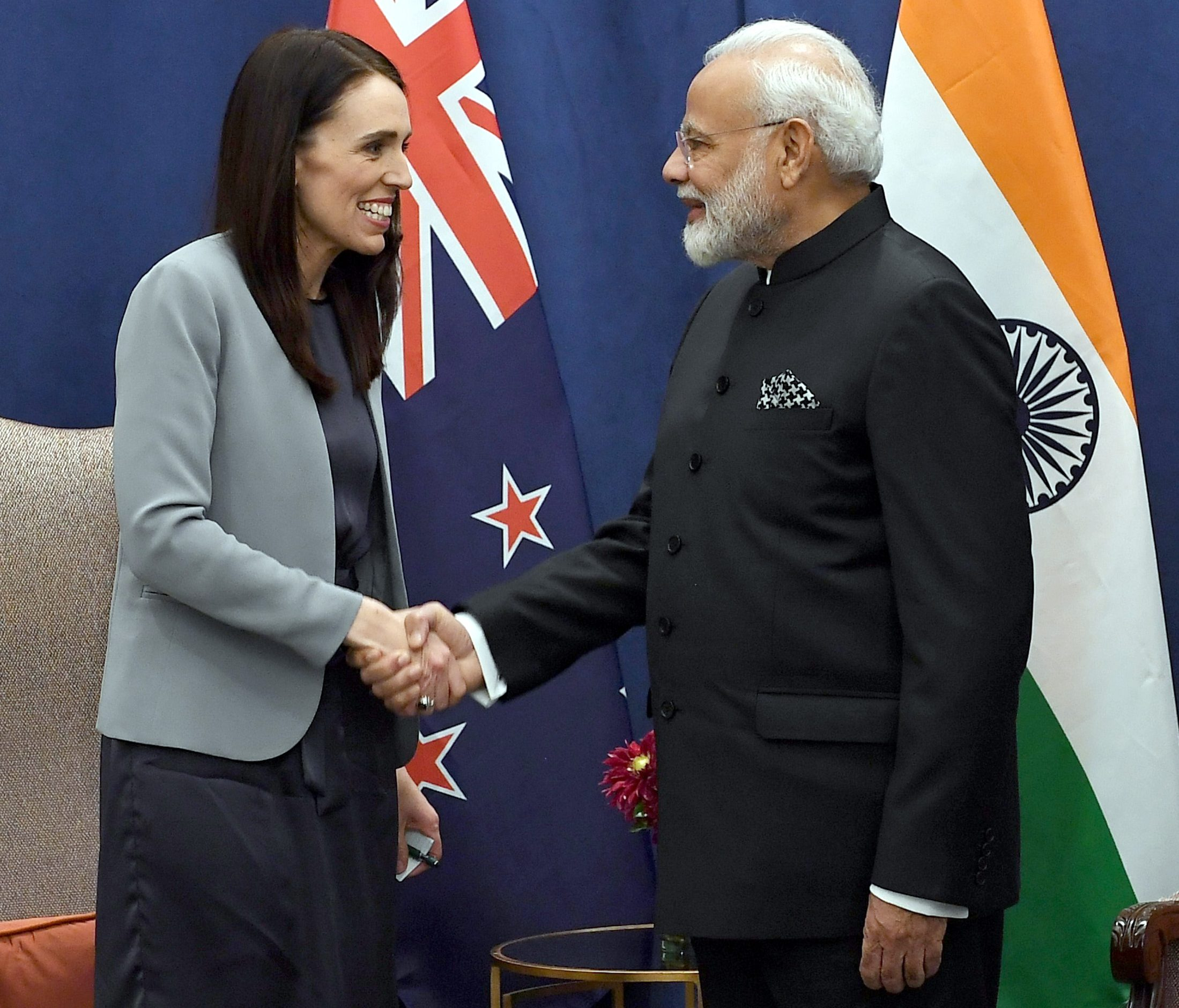 Bilateral meeting of PM with H.E. Ms Jacinda Ardern, Prime Minister of New Zealand Bilateral meeting of PM with H.E. Ms Jacinda Ardern, Prime Minister of New Zealand