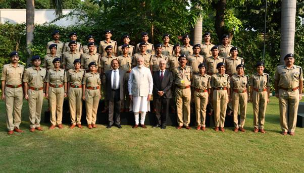 IPS Probationers of 2018 batch call on PM