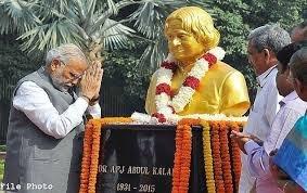 India Salutes Dr A P J Abdul Kalam on his Birth Anniversary