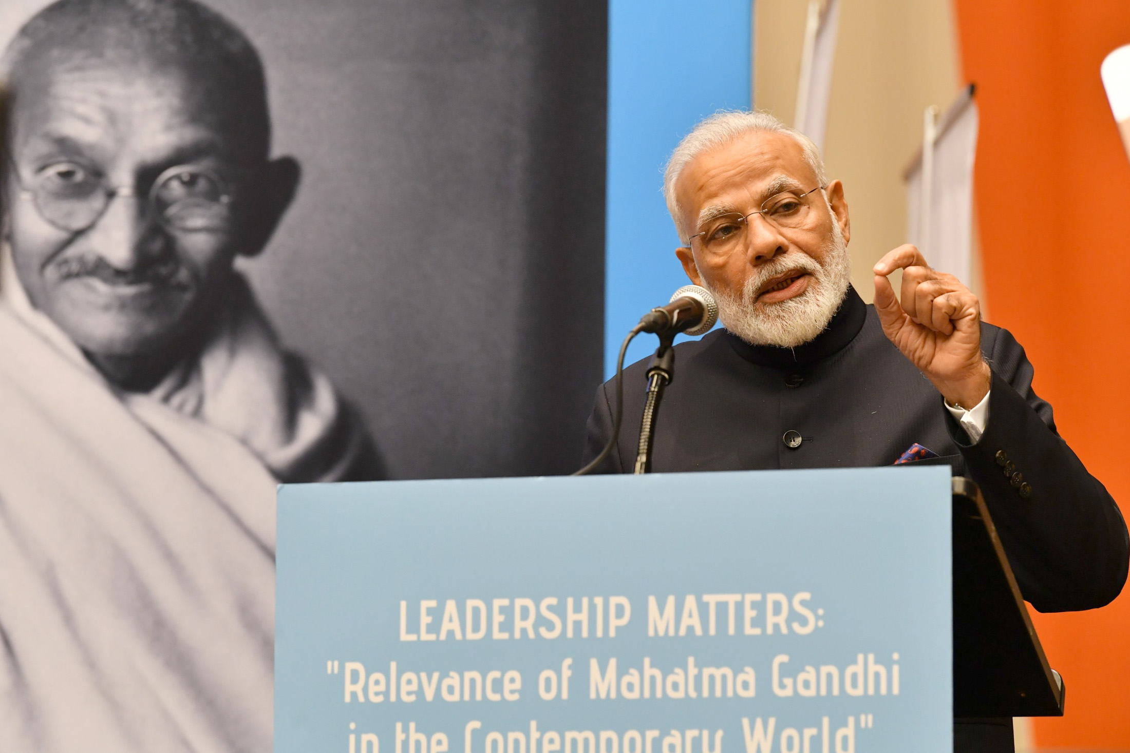 "Leadership Matters: ""Relevance of Mahatma Gandhi in the Contemporary World"" ECOSOC Chamber Leadership Matters: ""Relevance of Mahatma Gandhi in the Contemporary World"" ECOSOC Chamber"