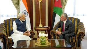 Meeting between Prime Minister and King of Jordan in Riyadh