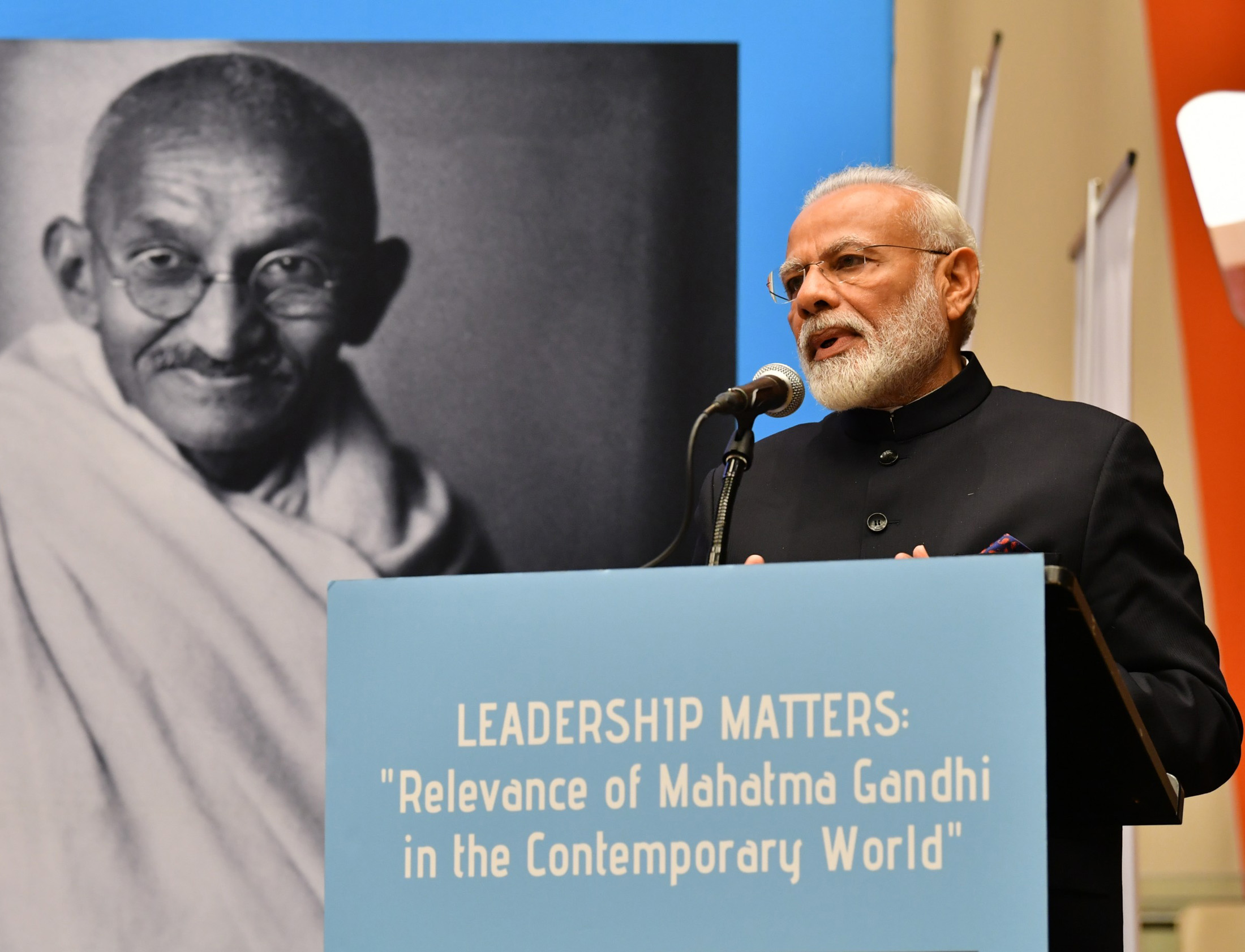 PM's speech at ECOSOC Chambers on relevance of Mahatma Gandhi in today's era PM's speech at ECOSOC Chambers on relevance of Mahatma Gandhi in today's era