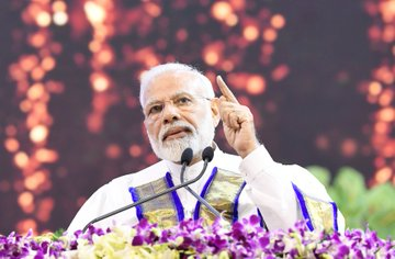 PM addresses the 56th Convocation of IIT Madras