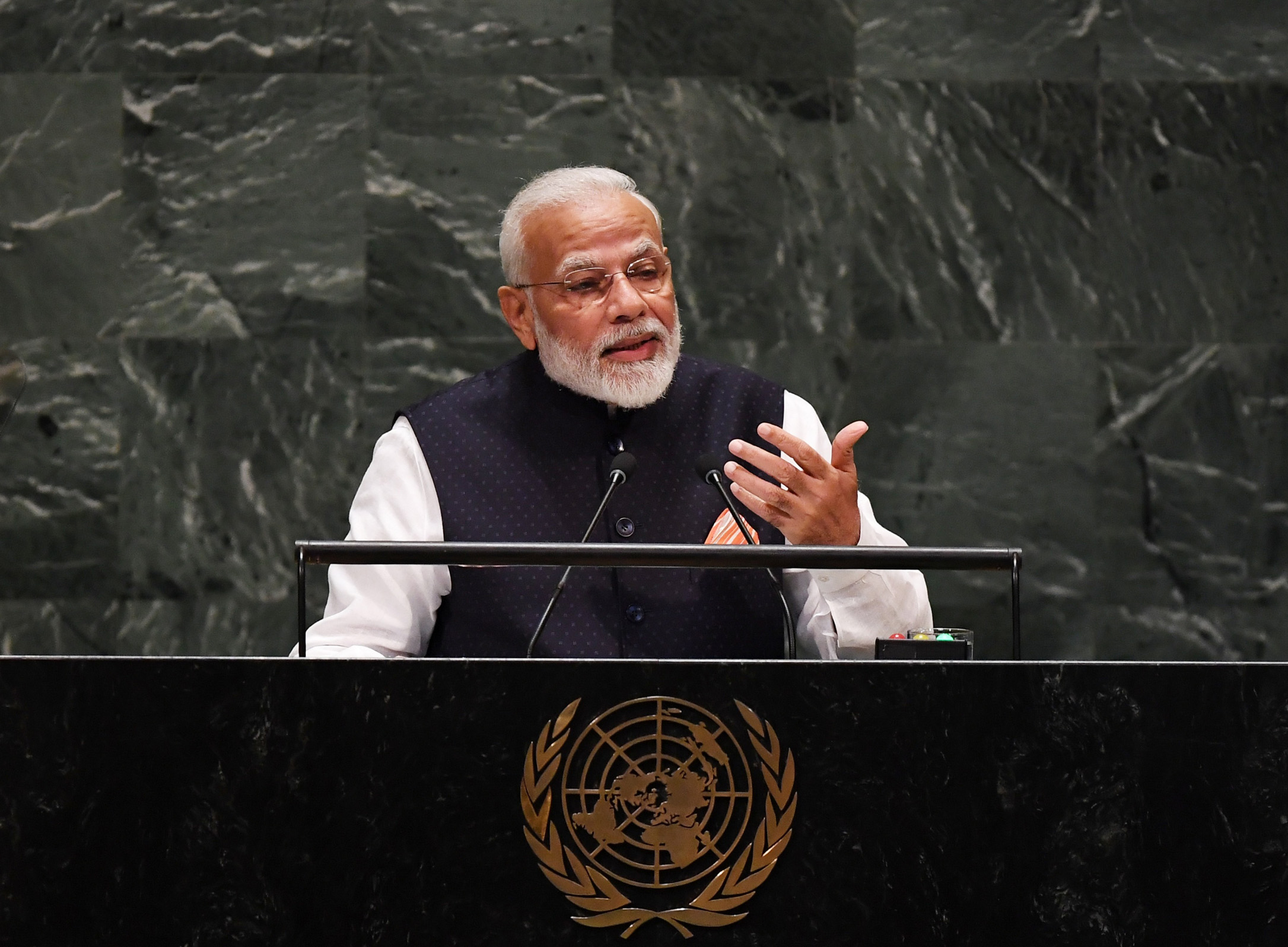 PM addresses the United National General Assembly