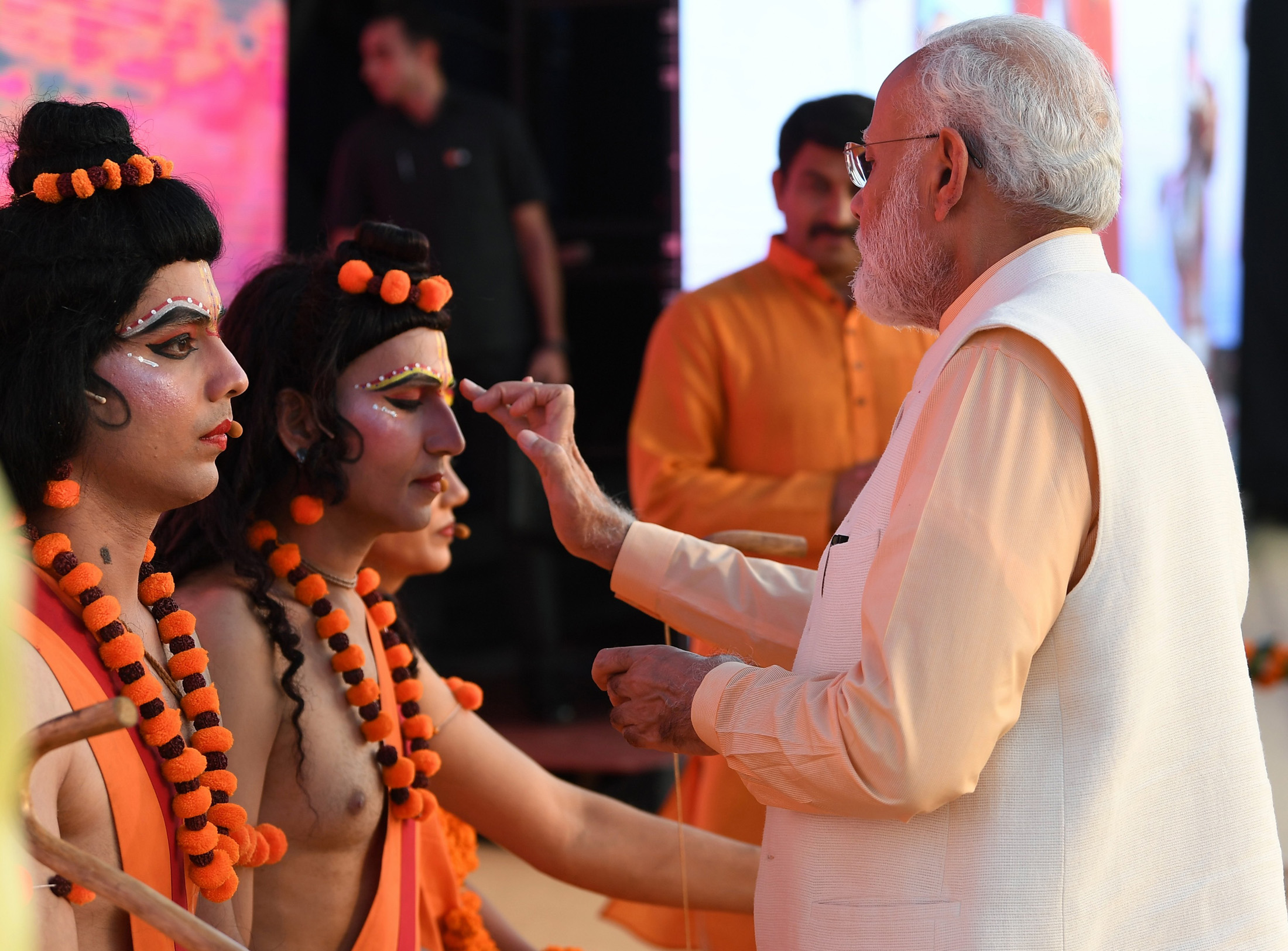 PM attends Dussehra Celebrations at DDA Ground, Dwaraka