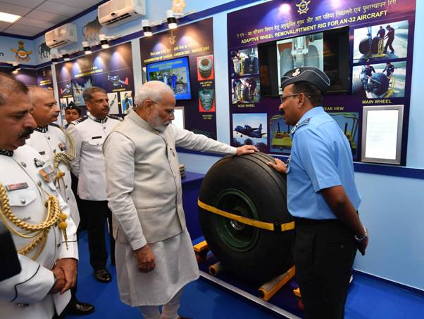 PM attends the 'At Home' reception by Chief of Air Staff