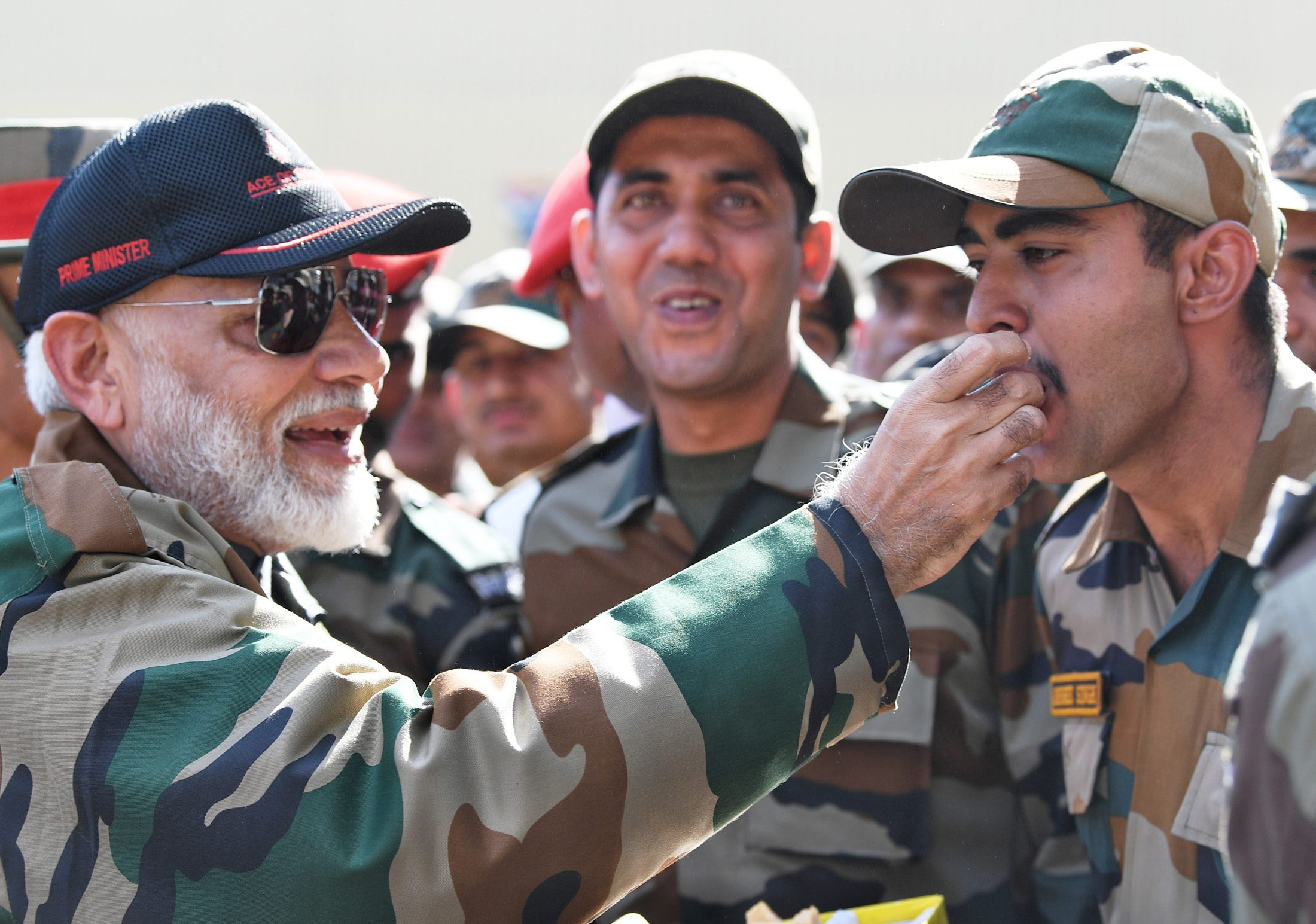PM celebrates Diwali with his 'family' – the bravehearts on the border in J&K