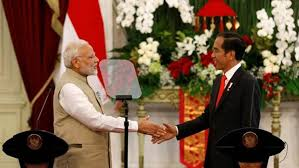 PM congratulates Shri Joko Widodo on his re-election as the President of Indonesia