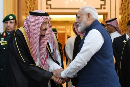 PM meets King of Saudi Arabia in Riyadh