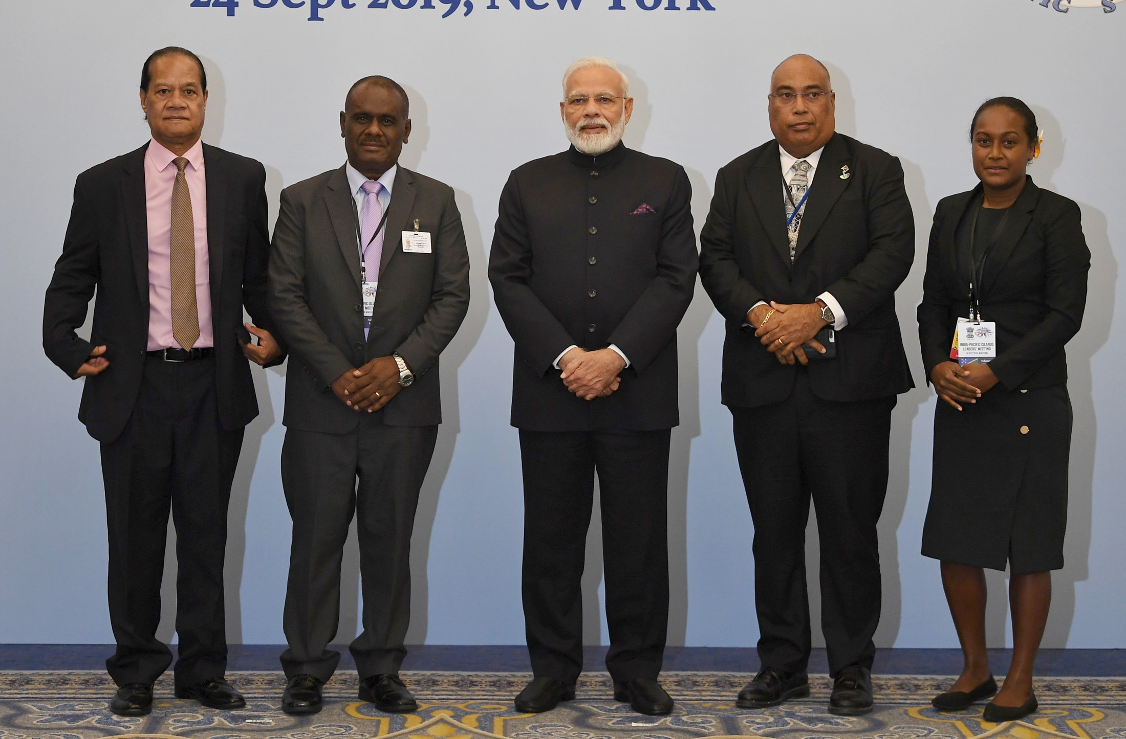 PM meets Pacific Island Leaders