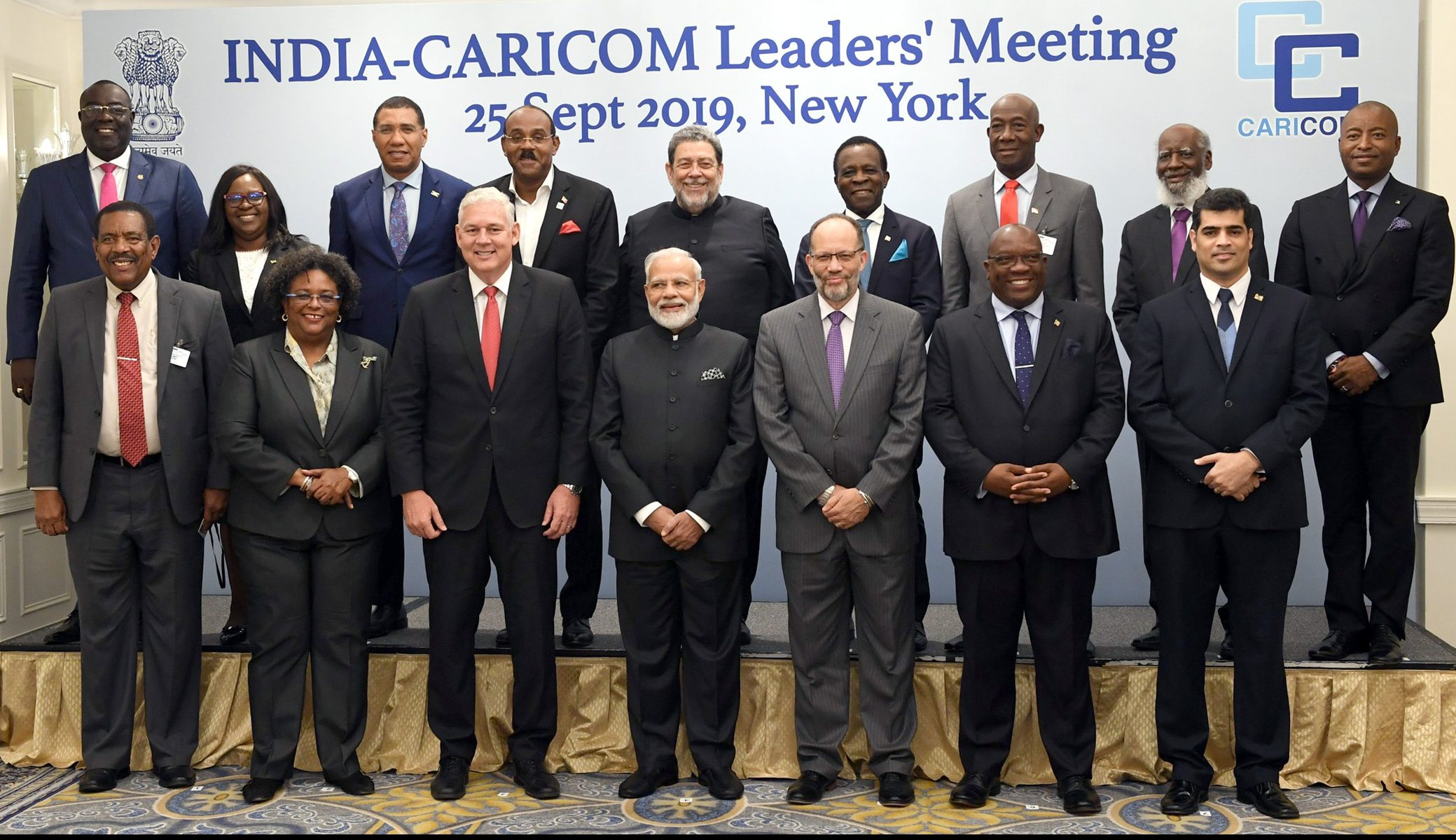 PM met with the leaders of CARICOM at the UNGA PM met with the leaders of CARICOM at the UNGA