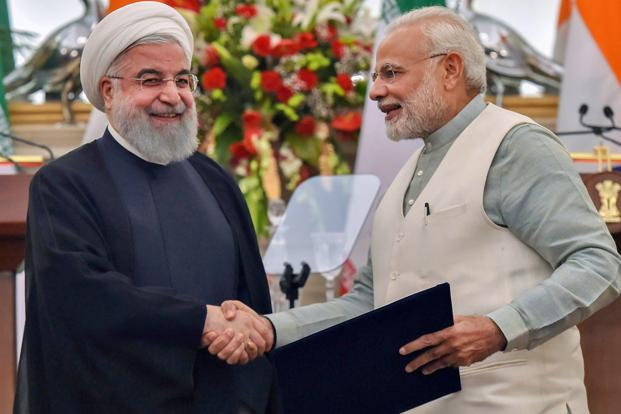 Prime Minister meets President of Iran