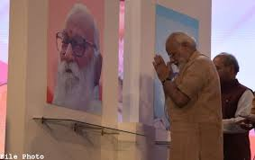Prime Minister pay tribute to Nanaji Deshmukh on his Birth Anniversary