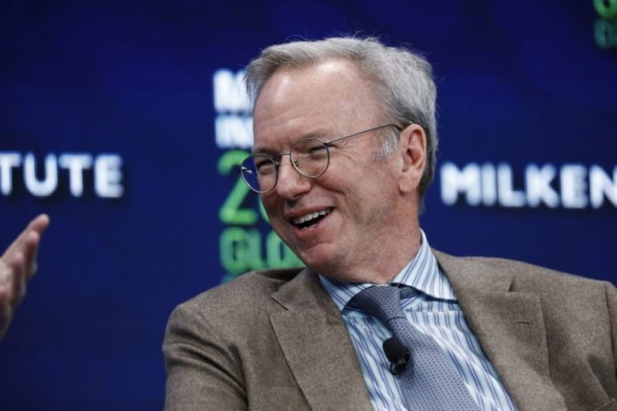 Would love to see Indian built apps used in the US, says former Google CEO Eric Schmidt