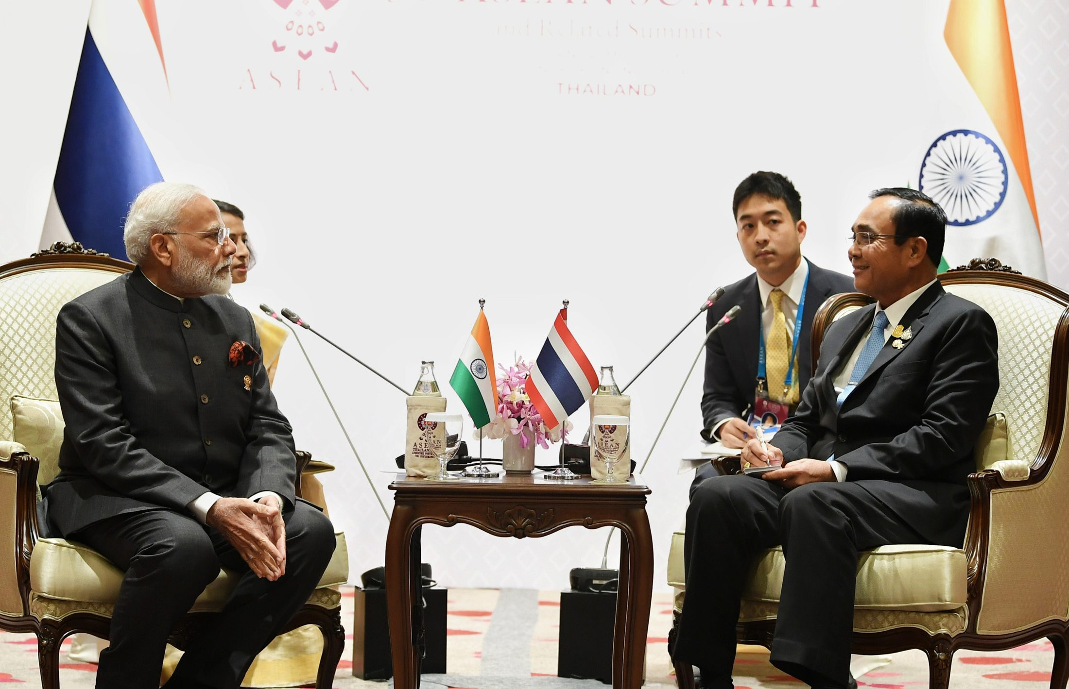 Bilateral Meetings of the PM on the sidelines of ASEAN – India Summit, Bangkok