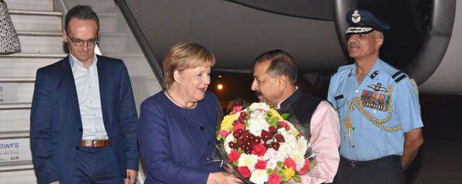 Joint Statement during the visit of Chancellor of Germany to India