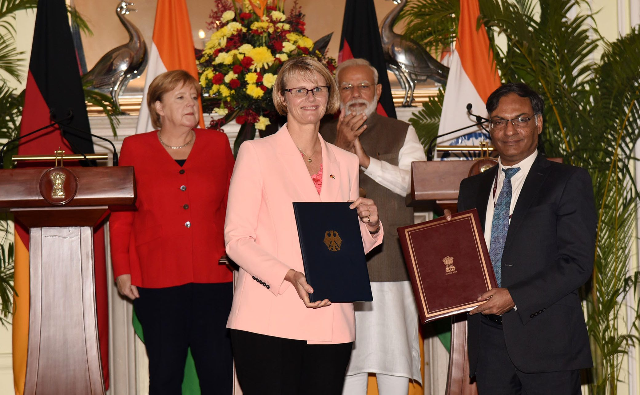 List of MoUs/Agreements signed during the visit of Chancellor of Germany to India