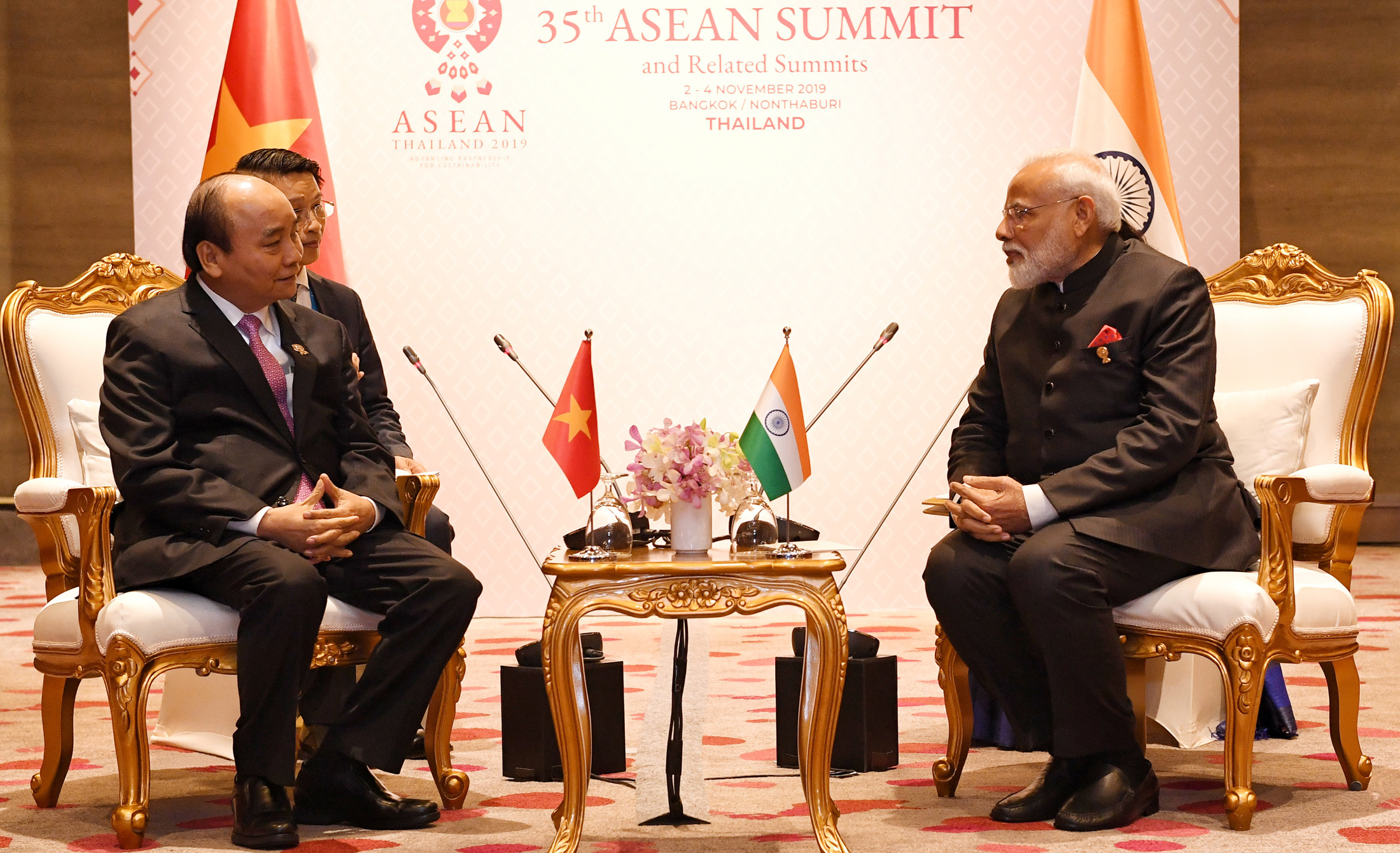 Meeting of PM with Prime Minister of Vietnam