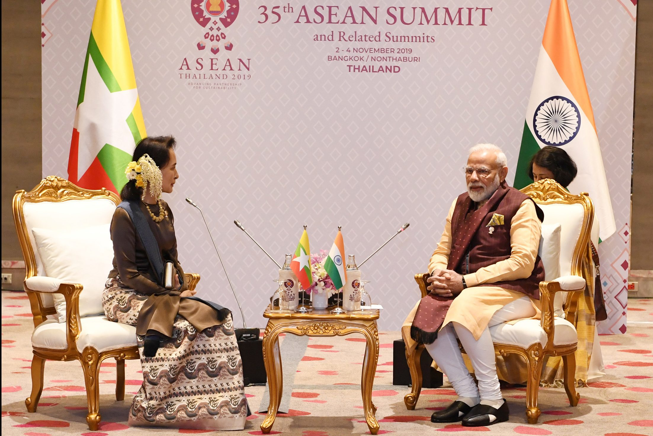 PM's meeting with State Counsellor of Myanmar