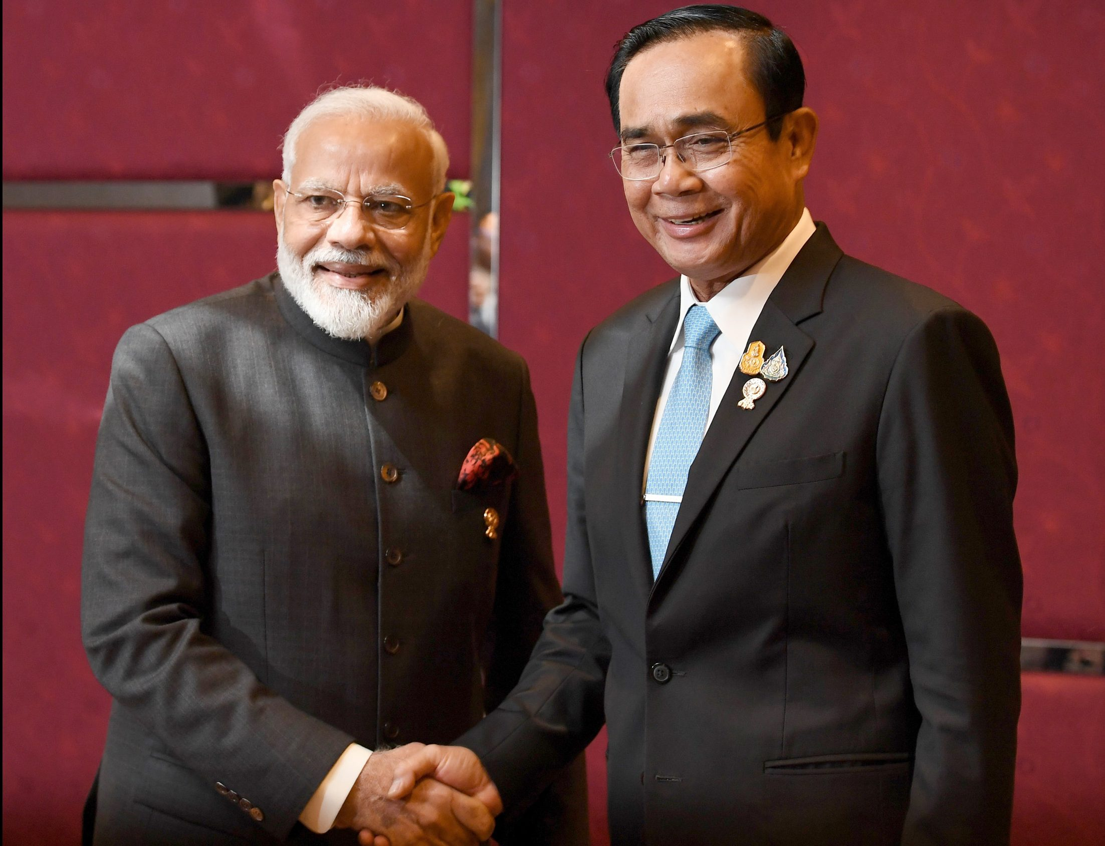 PM's meeting with the PM of Thailand