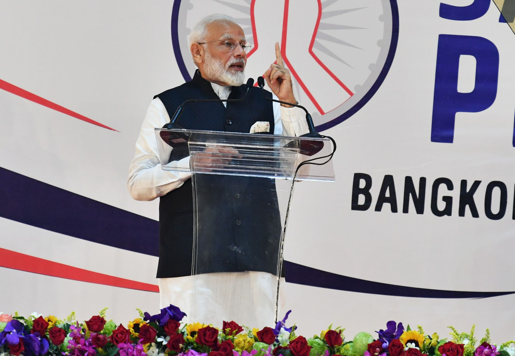 PM addresses 'Sawasdee PM Modi' community event in Bangkok