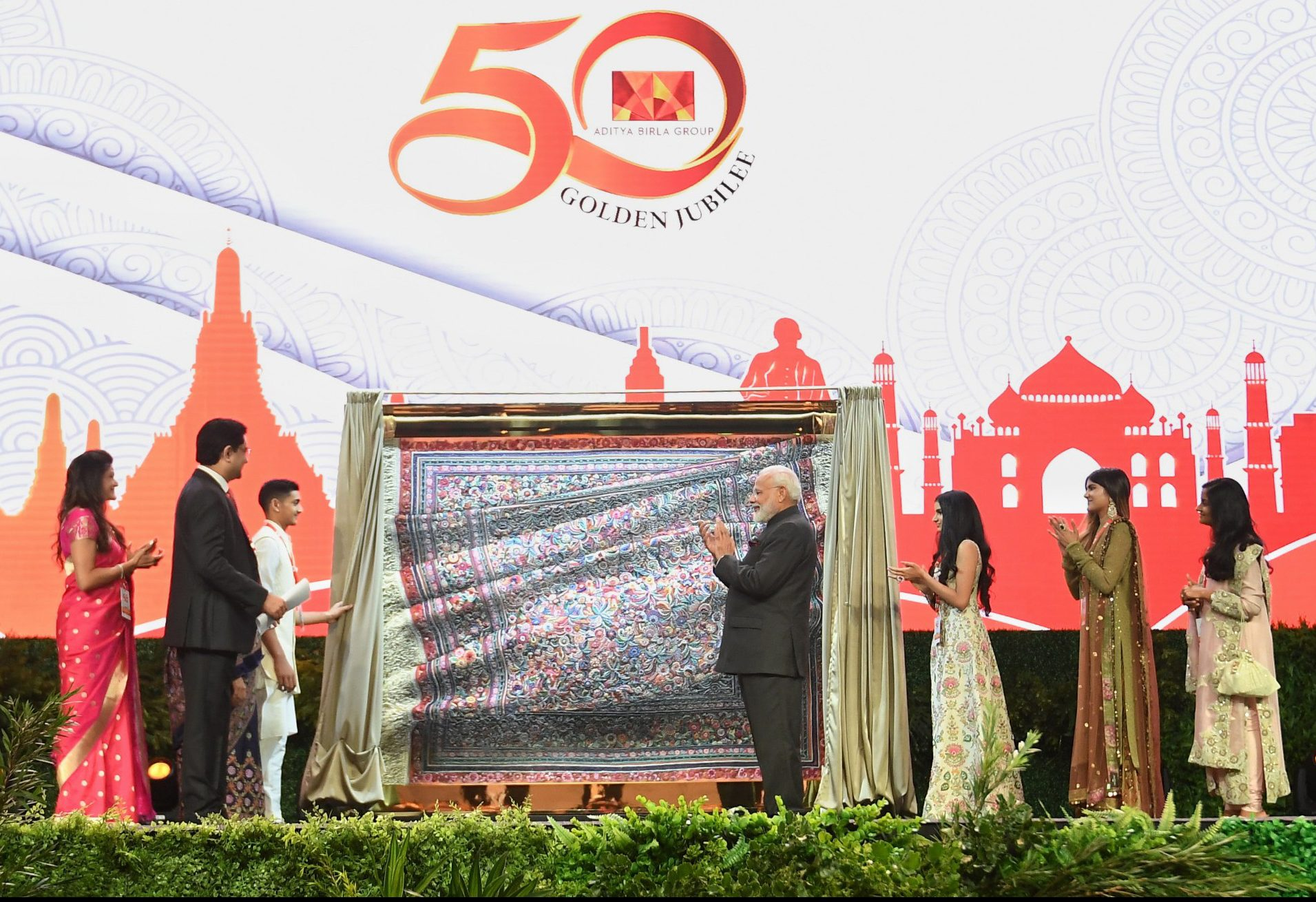 PM attends Aditya Birla Group Golden Jubilee Celebrations in Thailand
