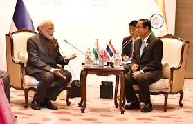 Prime Minister's meeting with the Prime Minister of Thailand