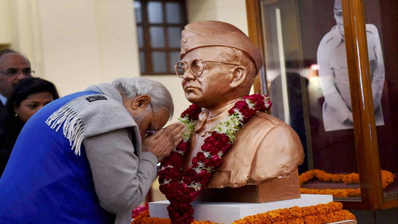 PM pays tributes to Netaji Subhas Chandra Bose on his Jayanti