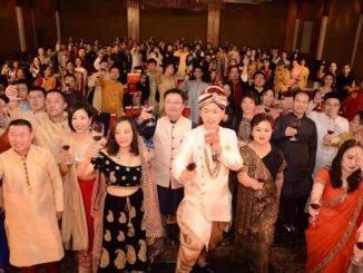 पांशी हंड्रेड हीरोज बैंक्वेट भारत में आयोजित किया गया