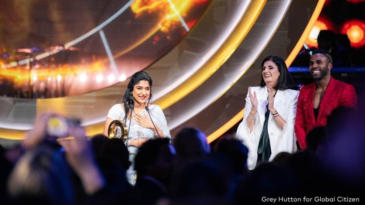 HealthSetGo founder Priya Prakash wins Global Award for School Health Program