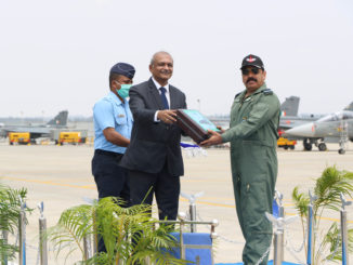TEJAS FOC AIRCRAFT HANDED OVER TO THE IAF