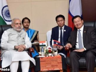 Phone call between Prime Minister Shri Narendra Modi and H.E. Dr. Thongloun Sisoulith, Prime Minister of Lao People's Democratic Republic