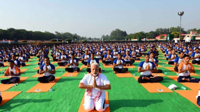 Yoga Day is a day of solidarity and universal brotherhood, says PM