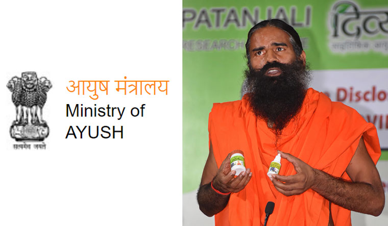 Statement issued by the Ministry of Ayush on claims of Patanjali Ayurved regarding treatment of COVID-19