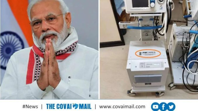50,000 Made in India Ventilators under PM CARES Fund to fight COVID-19