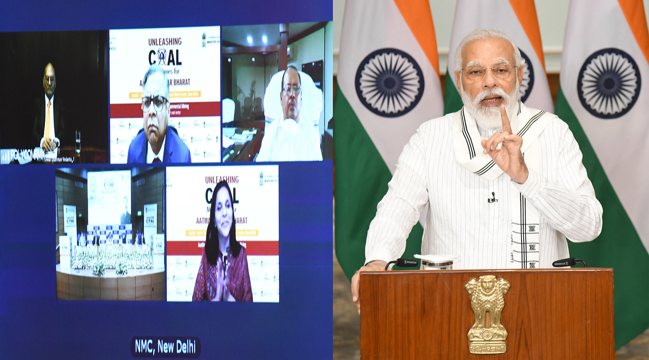 Coal sector reforms will make eastern and central India, our tribal belt in, pillars of development: PM