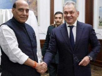 Raksha Mantri Shri Rajnath reviews India-Russia defence cooperation with Russian Deputy Prime Minister
