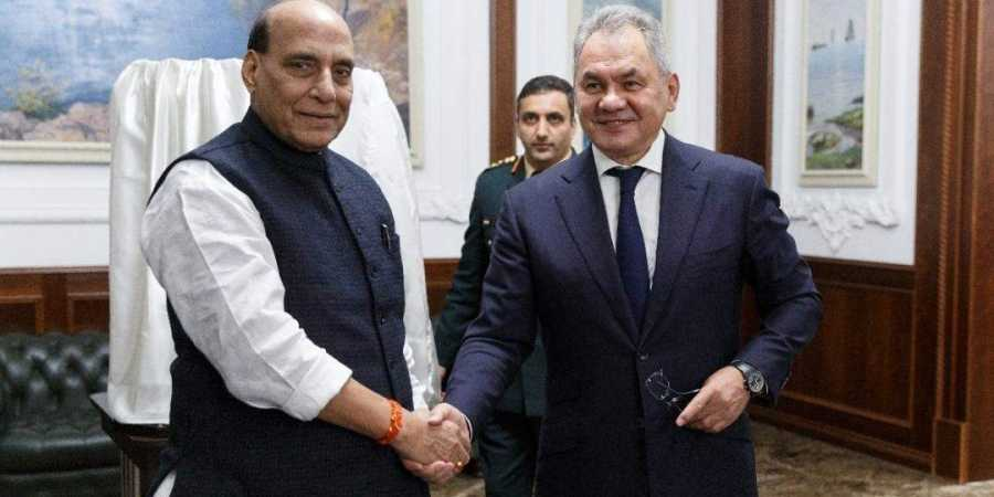 Raksha Mantri Shri Rajnath reviews India-Russia defence cooperation with Russian Deputy Prime Minister