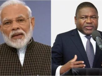 Telephone conversation between PM and H.E. Filipe Jacinto Nyusi, President of Mozambique